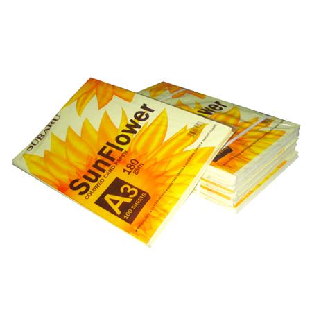 Giấy bìa màu SunFlower A3