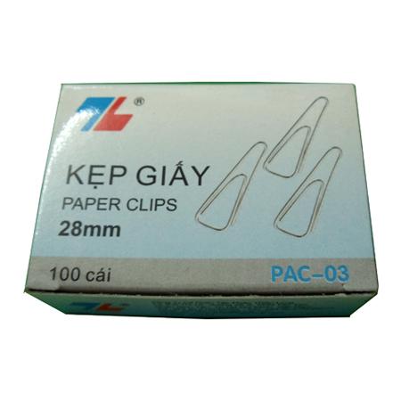 Kẹp giấy Thiên Long PAC-03 (28mm)