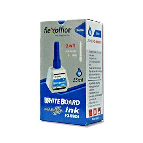 Mực bút lông Bảng Flexoffice FO-WBI01 – màu xanh