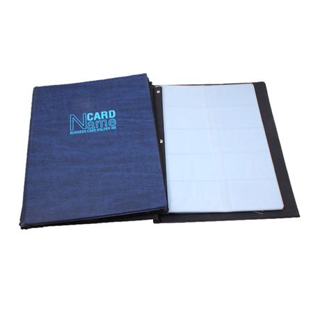 Sổ name card 400 gáy vuông NCH-05