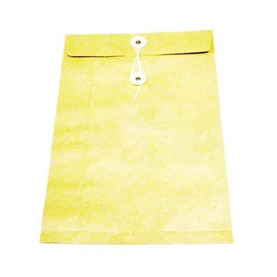 Bao hồ sơ vàng cột dây A4
