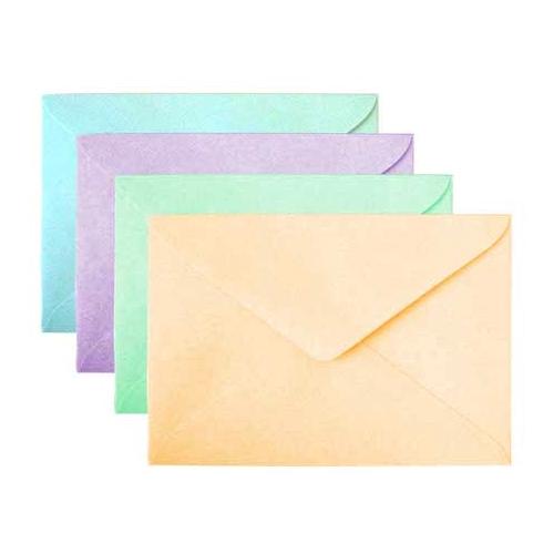 Bao thư màu giấy thơm có keo 11.4×16.2 cm