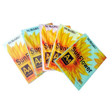 Giấy bìa màu SuBaRu A4